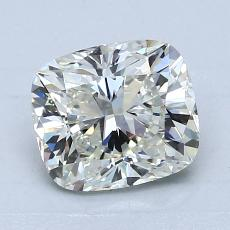 1.51-Carat Cushion Diamond Very Good I VVS2