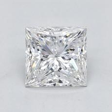 Recommended Stone #4: 0.91-Carat Princess Cut