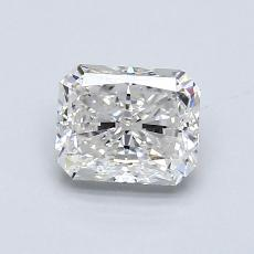 1,01-Carat Radiant Diamond Very Good G VS2