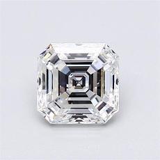 Recommended Stone #4: 1.01-Carat Asscher Cut Diamond