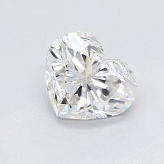 0,93-Carat Heart Diamond Very Good G VVS2