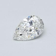 Recommended Stone #4: 0.46-Carat Pear Cut Diamond