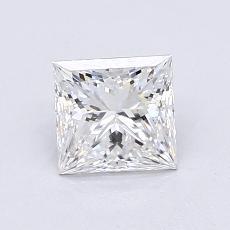 推荐宝石 4:1.01 克拉公主方形钻石