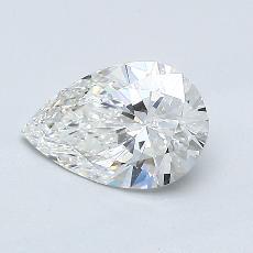 推荐宝石 2:0.75 克拉梨形切割钻石