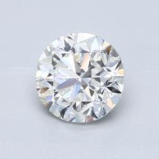 1.01-Carat Round Diamond Good F VVS2