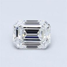 Recommended Stone #4: 0,84-Carat Emerald Cut Diamond