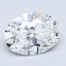 Recommended Stone #4: 1,71-Carat Oval Cut Diamond