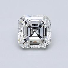 Recommended Stone #2: 0.74-Carat Asscher Cut Diamond