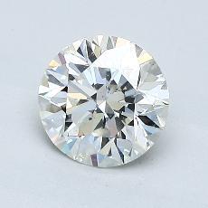 1.03 Carat 圆形 Diamond 理想 J SI1
