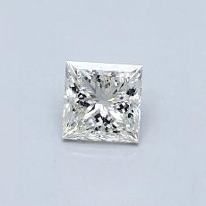 Recommended Stone #4: 0.32-Carat Princess Cut Diamond