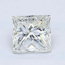 1,50-Carat Princess Diamond Very Good I VS1