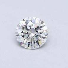 0.53 Carat 圆形 Diamond 理想 G VS1