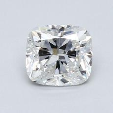 目标宝石:1.12 克拉垫形钻石