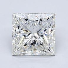 Pierre recommandée n°4: Diamant taille princesse 2,06 carat