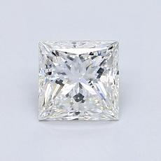 Recommended Stone #2: 0.97-Carat Princess Cut