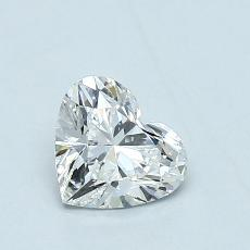 Recommended Stone #4: 0,71-Carat Heart Cut Diamond