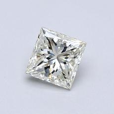 Recommended Stone #3: 0.52-Carat Princess Cut Diamond