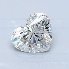 Target Stone: 0.82-Carat Heart Cut Diamond