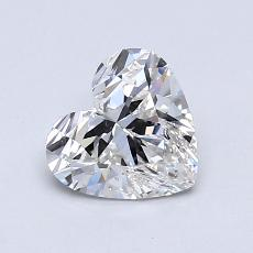 Target Stone: 0.91-Carat Heart Cut Diamond