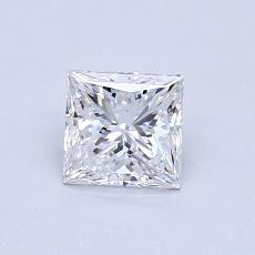 Recommended Stone #1: 0,71-Carat Princess Cut Diamond