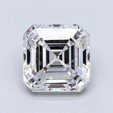 Recommended Stone #4: 1.71-Carat Asscher Cut Diamond