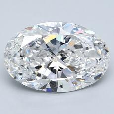 Recommended Stone #3: 1.84-Carat Oval Cut Diamond
