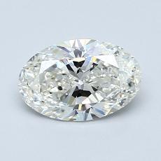 1.01-Carat Oval Diamond Very Good I SI2