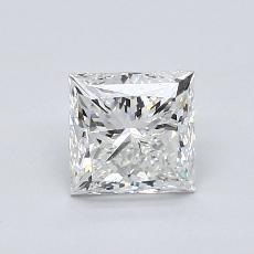 1.03-Carat Princess Diamond Very Good H VS1