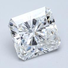 Recommended Stone #4: 3.10-Carat Radiant Cut Diamond