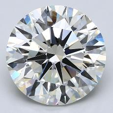 Target Stone: 5.00-Carat Round Cut Diamond