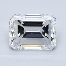 Recommended Stone #2: 2.09-Carat Emerald Cut Diamond