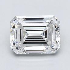 Recommended Stone #4: 1.84-Carat Emerald Cut Diamond