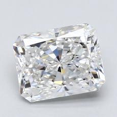 2.01 Carat ラディアント Diamond ベリーグッド F VS2
