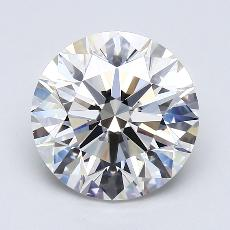 Recommended Stone #3: 4.03-Carat Round Cut