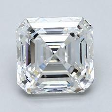 Recommended Stone #4: 2.01-Carat Asscher Cut Diamond