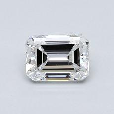 Recommended Stone #4: 0,76-Carat Emerald Cut
