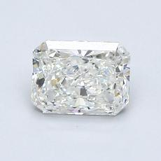 Pierre cible : Diamant taille radiant 0,91 carats