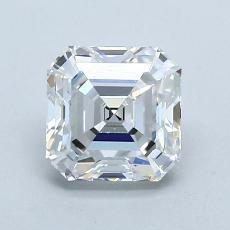 1.31-Carat Asscher Diamond Very Good E VVS2