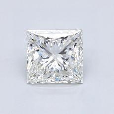 オススメの石No.4:0.92カラットのプリンセスカットダイヤモンド