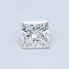 Recommended Stone #2: 0.52-Carat Princess Cut Diamond