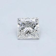 推荐宝石 4:0.46 克拉公主方形钻石