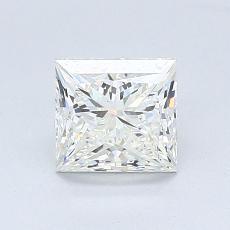 推荐宝石 4:1.07 克拉公主方型切割