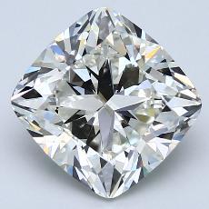 目标宝石:4.01 克拉垫形钻石