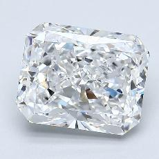 Recommended Stone #4: 2.51-Carat Radiant Cut Diamond