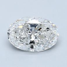 推荐宝石 4:1.20克拉椭圆形切割钻石