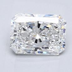 Pierre recommandée n°3: Diamant taille radiant 1,62 carats