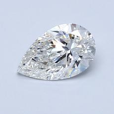 Target Stone: 0.72-Carat Pear Cut Diamond