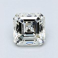 Pierre recommandée n°3: Diamant taille Asscher 1,00 carat