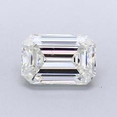 Pierre recommandée n°4: Diamant taille émeraude 1,35 carat