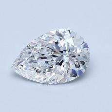Recommended Stone #4: 0.81-Carat Pear Cut Diamond